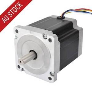 nema 34 cnc stepper motor 5nm 708oz in 3 0a 8 wires bipolar unipoar rh ebay com au