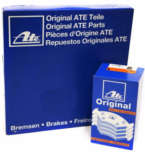 ATE 2x Bremsscheibe Bremsbeläge VORNE f Renault 24.0124-0191.1+13.0460-7222.2