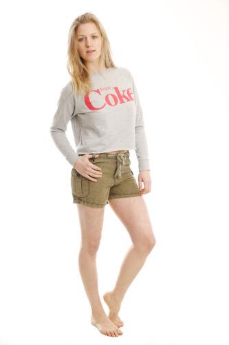 Donna Pantaloncini Da Combattimento DONNA BOYFRIEND elasticizzato Pantaloncini Di Jeans Pantalone a metà