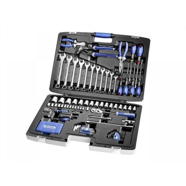 Expert By Facom E034806 124 Pce Portable Tool Kit Socket Spanner Set