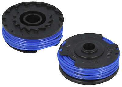 300DX 2 X Spool And Line Fits FLYMO TWIN LINE MULTI TRIM 250D 300D 250DX