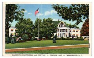1944-Washington-Sanitarium-and-Hospital-Takoma-Park-DC-Postcard