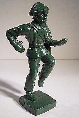 """05 073 Pgh Effelder """"ddr Soldat Laufend 1 Ohne Waffe Aus Nva Taktikkoffer (grün Up-To-Date-Styling"""