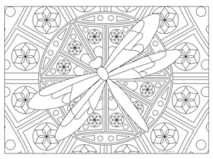 Details about Giant Coloring Poster - Dragonfly (32\