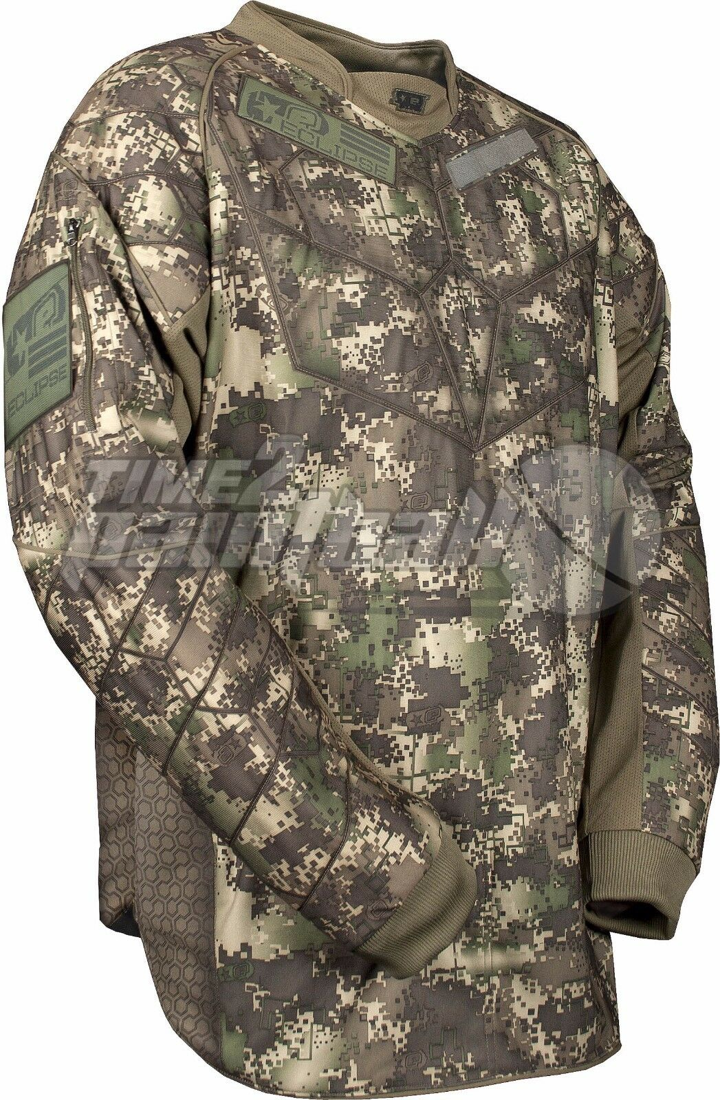 Planet Eclipse HDE Camo Paintball Jersey  Medium FREE SHIPPING