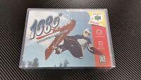 1080° Snowboarding 1080 Nintendo 64 N64 Case With Free Artwork No Game