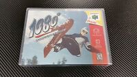 1080° Snowboarding 1080 Nintendo 64 N64 Case With Free Artwork No Game
