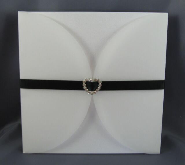 Vellum Invitation Wraps and Metallic Backing Cards (20) DIY Wedding Invites New