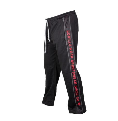 Gorilla wear functional Mesh pants black red