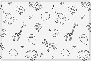 Parklon Baby Soft Play Mat Animal Talk