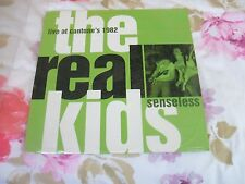The Real Kids, Senseless, Live at Cantone's 1982, Norton Records