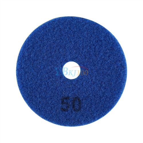 "4/"" Wet//Dry Diamond Polishing Pads Grinding Discs Granite Concrete Marble Stone"
