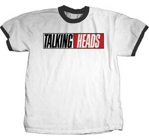 e302b8f9 The Talking Heads True Stories Ringer New Wave Post Punk Band Tee ...
