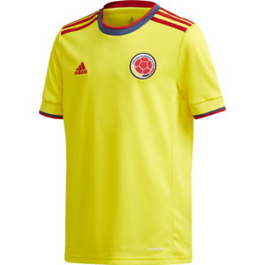 Details about adidas Colombia 2021 Copa America Home Soccer Jersey Yellow Navy Kids Youth
