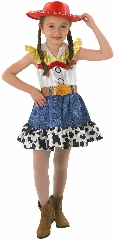 Rubies Jessie Skirt Costume Toy Story Cowgirl Disney Girls Costume Age 7-8 Years