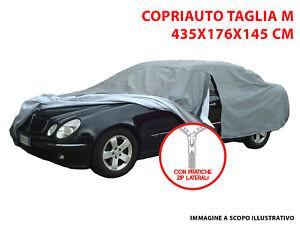 EMMEA TG L Telo COPRIAUTO Copri Auto Felpato Compatibile con Citroen XANTIA 1994 Universale Impermeabile Cover Anti Strappo Lavabile AntiGraffio Taglia L 482X196X120CM