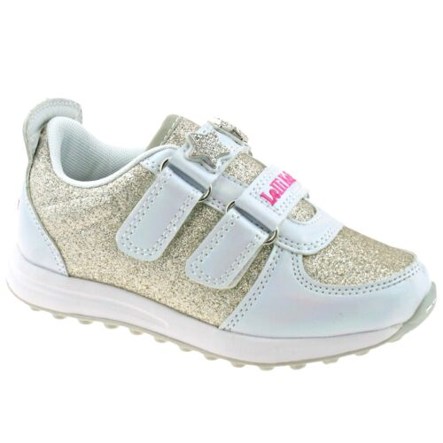 Denim Bianco Colorissima Trainers YA01 Lelli Kelly LK7868
