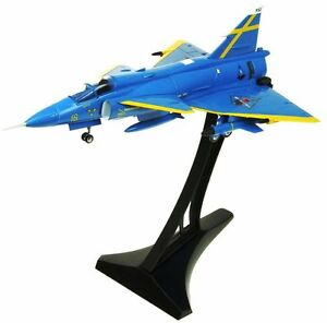 aviation72-av7242003-1-72-Saab-Viggen-f16-32-ja37-Azul-Peter-Uppsala-NUEVO-EN