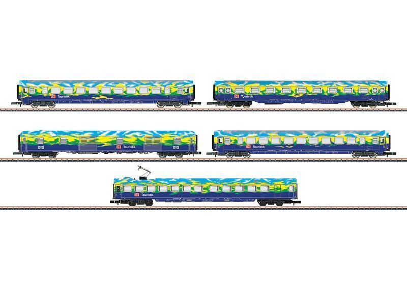 Z 87303-vagoni-Set 2  touristikzug  delle DB AG Merce Nuova