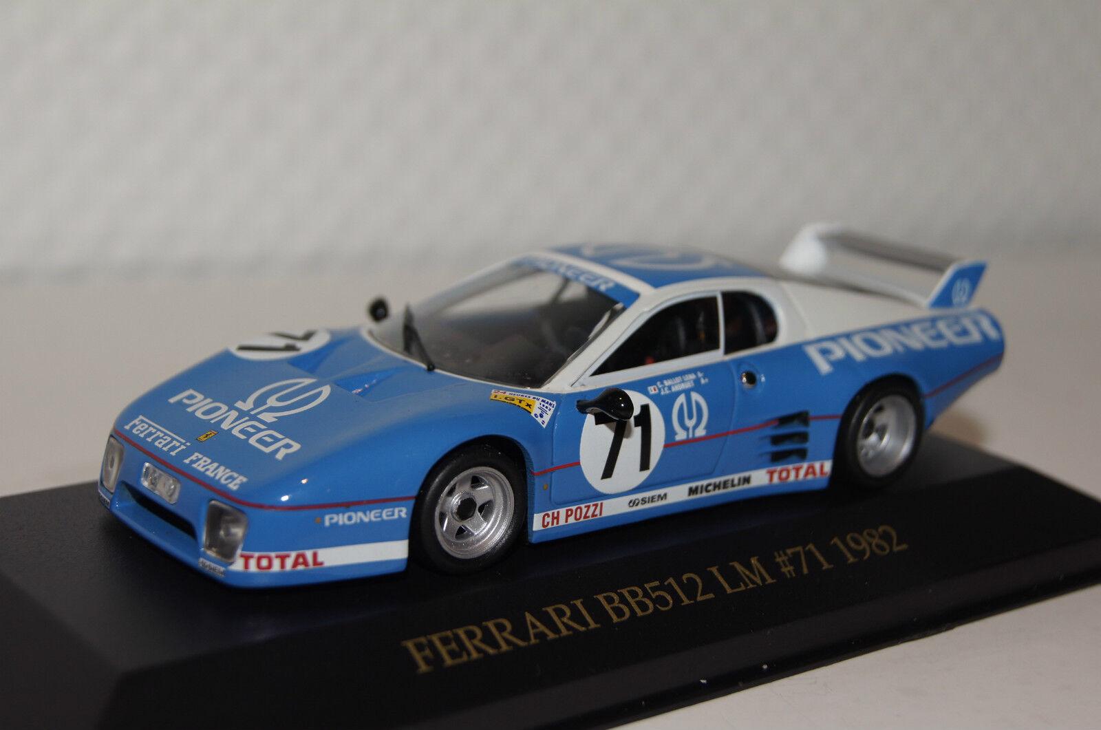 ventas en linea Ferrari bb512lm  71 1982 1982 1982 1 43 Ixo nuevo con embalaje original fer006  precioso