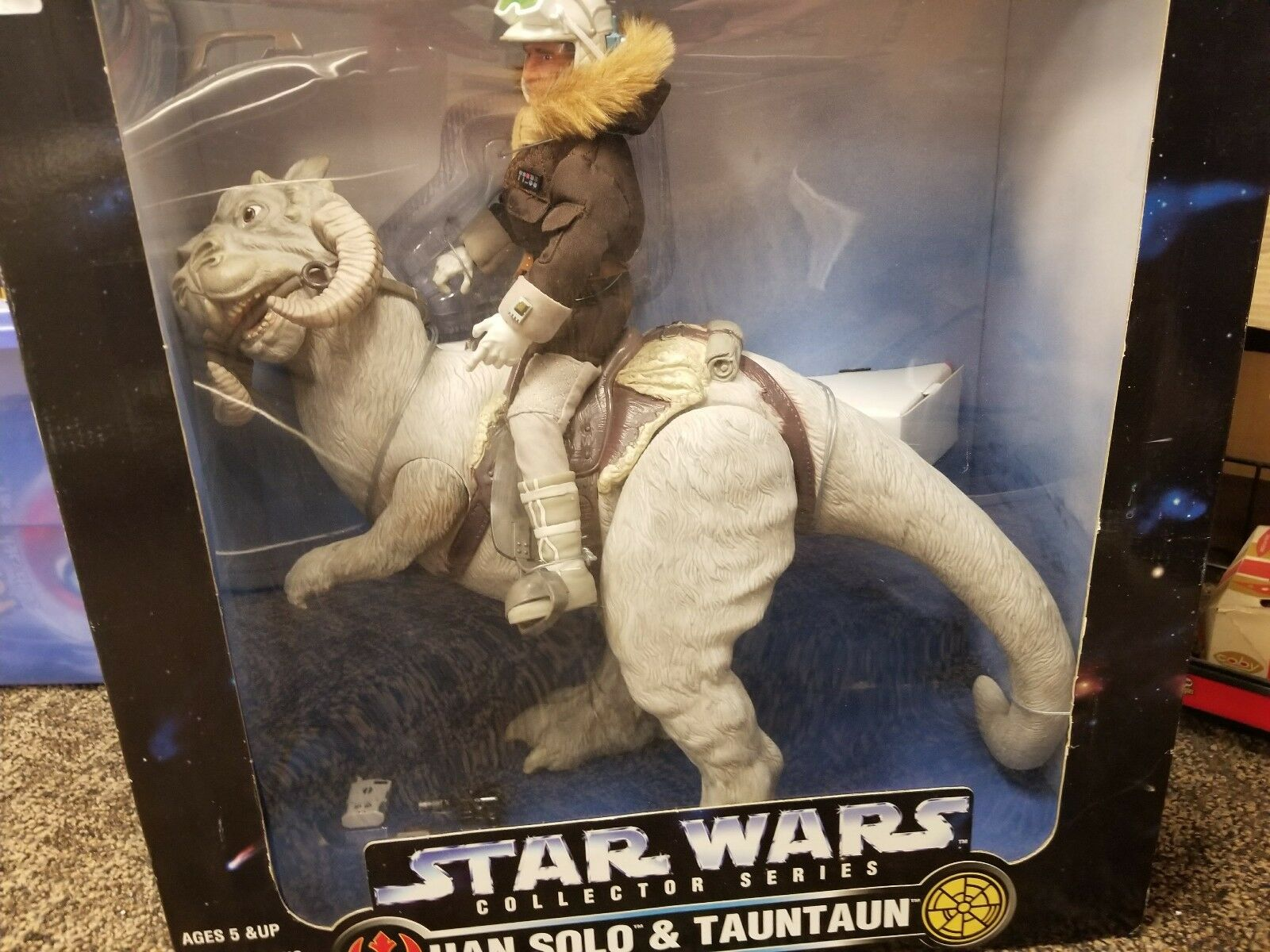 Kenner Star Wars Collector Series  Han Han Han Solo Tauntaun Action Figure d5bb77