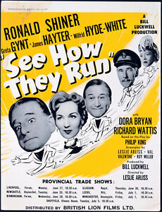 SEE-HOW-THEY-RUN-1955-Ronald-Shiner-Greta-Gynt-James-Hayter-TRADE-ADVERT