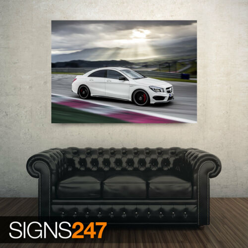 CAR POSTER MERCEDES BENZ CLA45 AMG AA795 Photo Poster Print Art * All Sizes