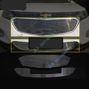For Chevrolet Holden Equinox 2017-18 2pcs Front Bumper Lower Grille Grill Mesh