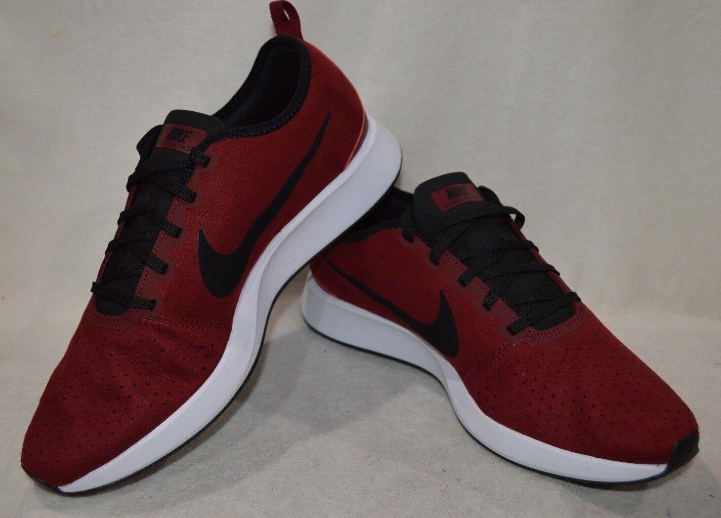Nike Dualtone Racer PRM Red Black White Men's Casual shoes - Assorted Sizes NWB