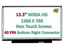 "13.3/""LCD SCREEN FOR Dell Vostro V131 V131D 3350 Laptop WXGA HD Slim LED Display"