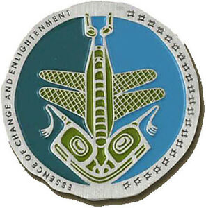 NATIVE-AMERICAN-TOTEM-GEOCOIN-DRAGONFLY-VARIOUS-METALS-UNACT-NEW