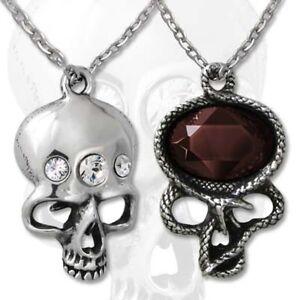 The-Demon-in-my-Head-Pendant-Alchemy-Gothic-Skull-Snake-Jewellery-P661