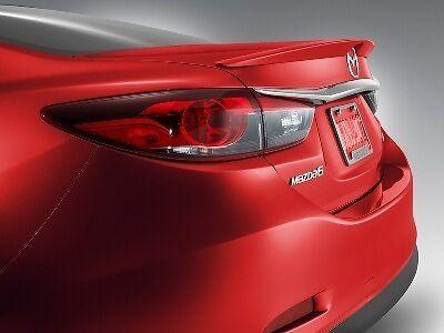 25D 00008YH5064 Mazda 6 14-16 New OEM rear lid spoiler Snowflake White Pearl