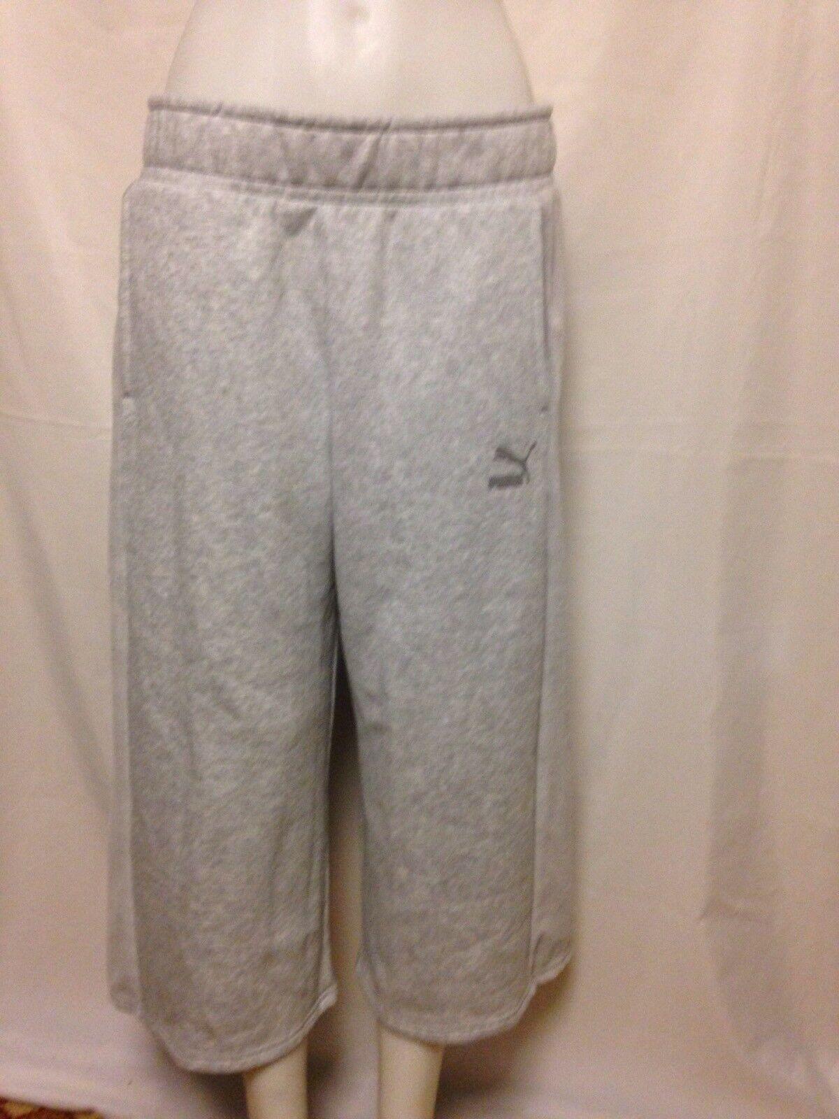 PUMA Xtreme Baggy Sweatpants 57315804 Large Grey NWT