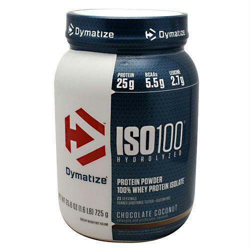 Dymatize Iso 100 Hydrolyzed 100 Whey Protein Isolate Gourmet Vanilla 1 6 Lbs For Sale Online Ebay