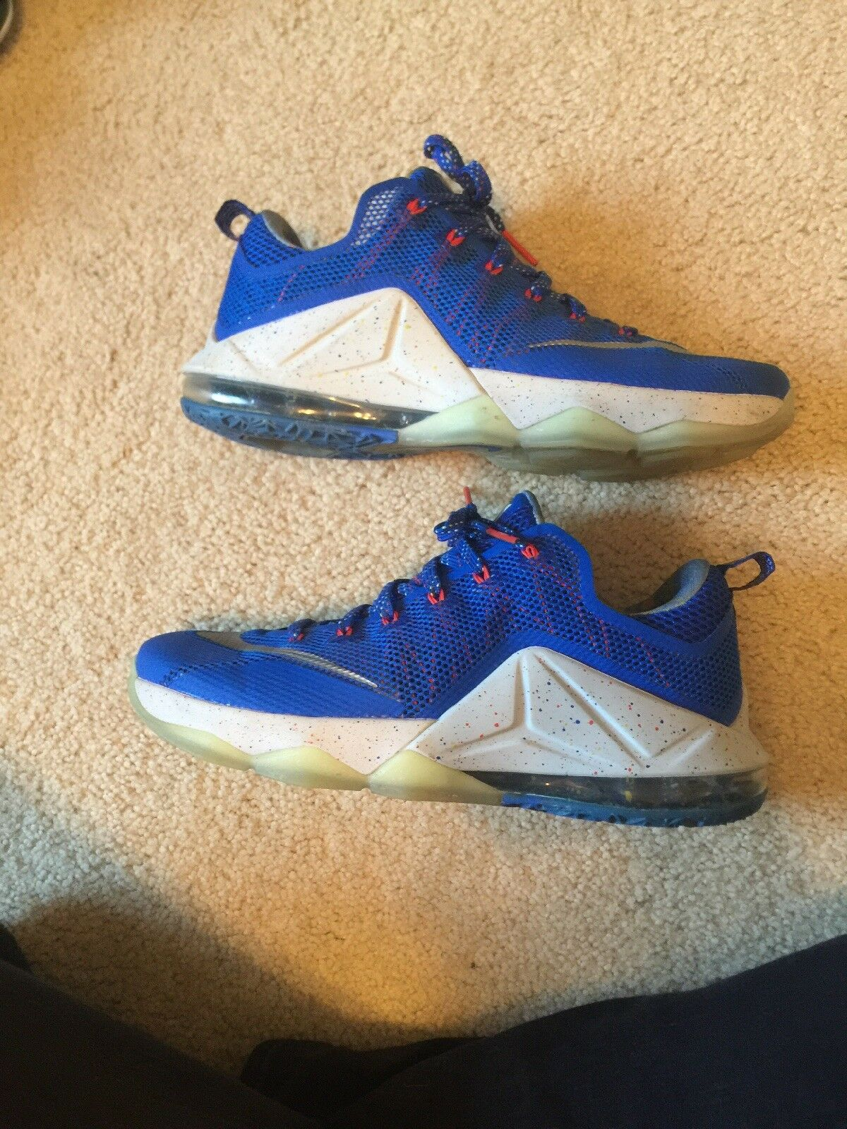 Nike Lebron XII Low LMTD Size 11 812560-406 Rise Limited Edition