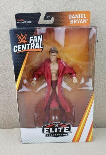 Daniel Bryan WWE Fan Central Elite Collection Figure Robe Mattel New