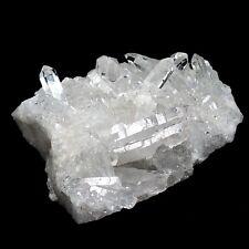 Bergkristallstufe AA - Qualität klar & weiß Bergkristall Stufe Spitze Spitzen V1