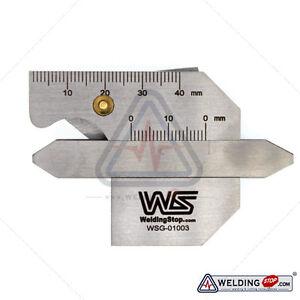 HJC-40B Welding Seam gauge Bead Gage Weld pit test ulnar inspection ruler