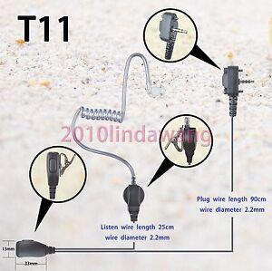 1-wire-Surveillance-Earpiece-Vertex-Standard-VX231-VX261-VX264-Portable-Radio