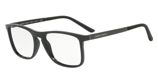 32296de9cd2f Giorgio Armani Eyeglasses AR 7119 5017 Black Frames 52MM New Authentic  Frames