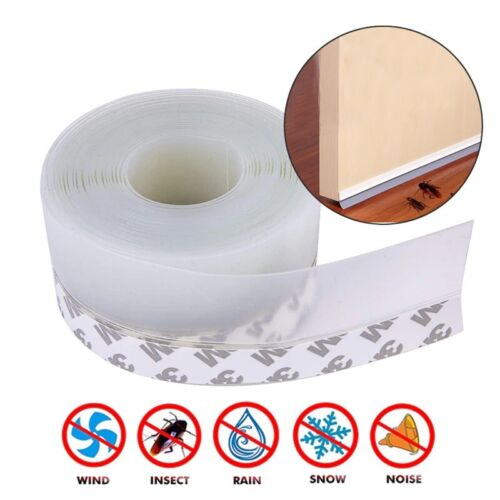 Weather Strip Silicone Soundproofing Window Seal Draught Dust | eBay