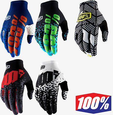 2018 100/% CELIUM 2 MOTOCROSS MX MTB BIKE GLOVES METAL WHITE