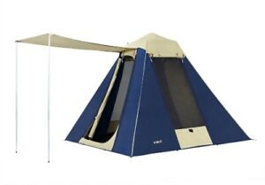 Oztrail-4-Person-Camping-Tent-Dome-Canvass-Hiking-Outdoor-Shelter