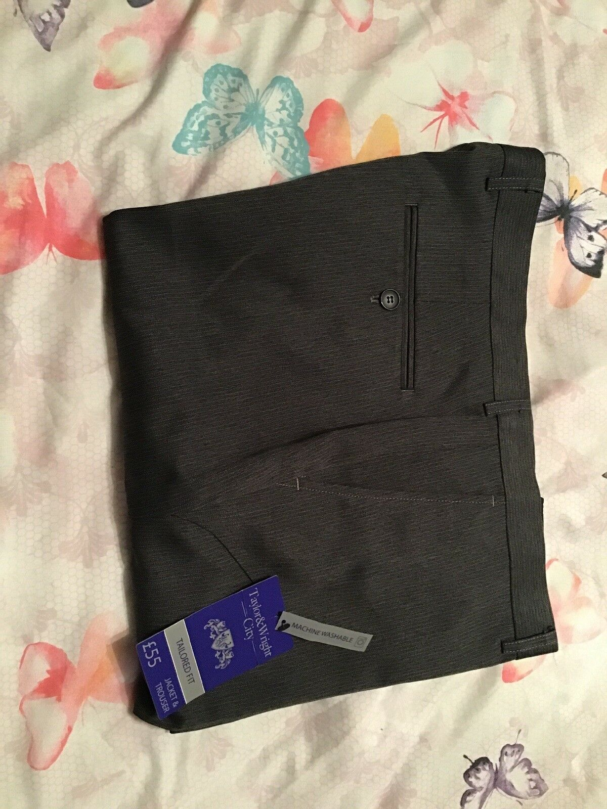 Brand New (tags On)Mens Trousers 36W 33L,please See Photos & Description