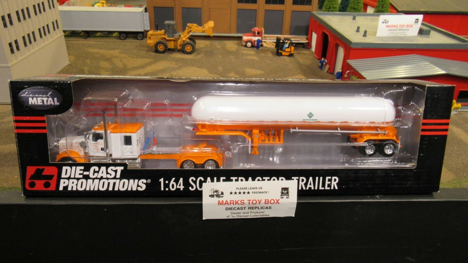 DCP 33561 Blank KW W900 semi Cab Camion anhydre citerne tanker trailer 1 64 CL
