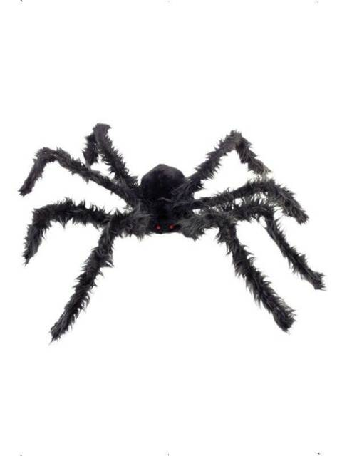 Giant Hairy Spider Light Up Eyes, Halloween Fancy Dress Accessories