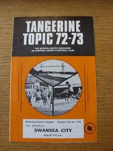 16011973 Newport County v Swansea City Welsh Cup Replay - <span itemprop=availableAtOrFrom>Birmingham, United Kingdom</span> - Returns accepted within 30 days after the item is delivered, if goods not as described. Buyer assumes responibilty for return proof of postage and costs. Most purchases from business s - Birmingham, United Kingdom