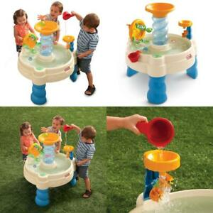 Details About Play Table Spiralin Seas Waterpark Toy Play Splash Fun Outdoor Toddler Kids