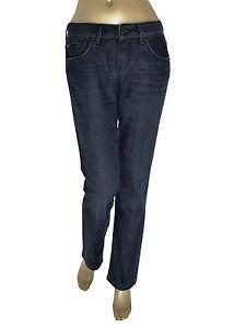 HUGO-BOSS-jeans-donna-Cinque-tasche-blu-scuro-in-OFFERTA